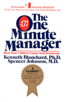 """Book Summary: """"The One Minute Manager"""" by Kenneth Blanchard and Spencer Johnson"""