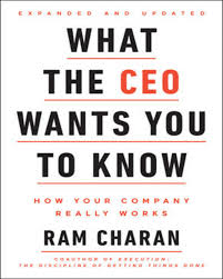 """Book Summary: """"What the CEO Wants You to Know"""" by Ram Charan"""